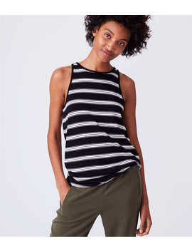 Lou &Amp; Grey Striped Signaturesoft Tunic Tank by Loft
