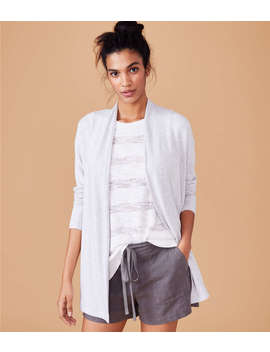 Lou &Amp; Grey Signaturesoft Open Cardigan by Loft