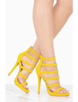 bonita---yellow by lola-shoetique