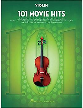 101-movie-hits-for-violin by hal-leonard-corp