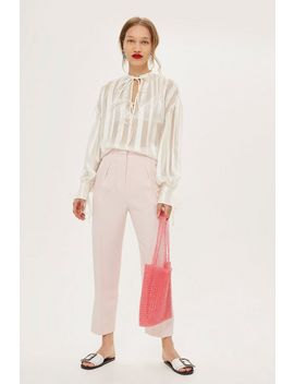 striped-gypsy-blouse by topshop