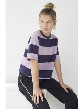 daydreamer-striped-crew-neck-tee by urban-outfitters