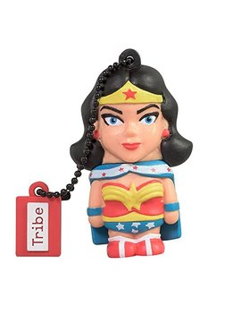 tribe-dc-comics-warner-bros-pendrive-figure-8-gb-funny-usb-flash-drive-20,-keyholder-key-ring,-wonder-woman-(fd031403) by tribe