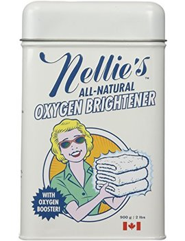 nellies-all-natural-oxygen-brightener-powder-tin,-2-pound---removes-tough-stains,-dirt-and-grime by nellies-all-natural