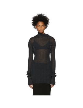 black-ribbed-turtleneck by ann-demeulemeester