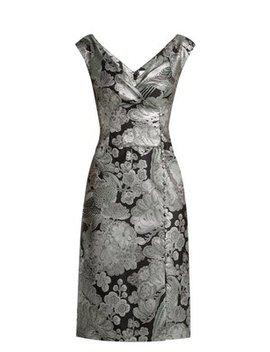 jyoti-floral-jacquard-midi-dress by erdem