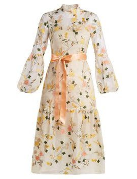 sandra-floral-embroidered-organza-gown by erdem