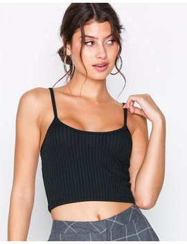 rib-cami-top by nly-trend