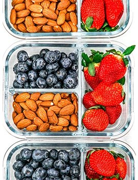 [3-pack]-glass-meal-prep-containers-3-compartment---glass-food-storage-containers---glass-storage-containers-with-lids---divided-glass-lunch-containers-food-container---bento-box-glass-food-container by mealprep