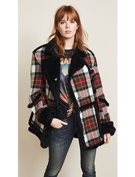plaid-coat-with-sherpa-trim by r13