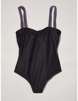 ruched-bodysuit by victorias-secret