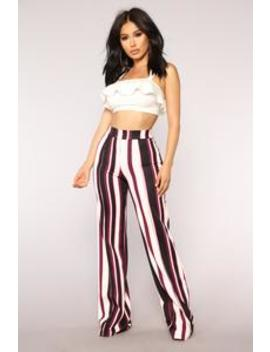 isabel-high-rise-pants---multi by fashion-nova