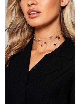floating-stars-choker by boohoo
