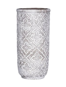 quatrefoil-cement-flower-pot by zulily