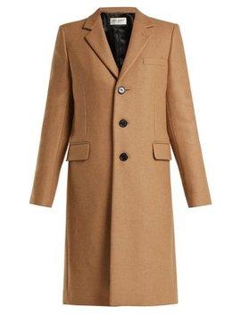 chesterfield-camel-coat by saint-laurent