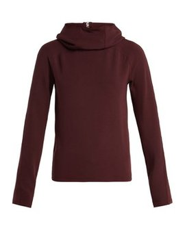 funnel-neck-hooded-jersey-sweater by paco-rabanne