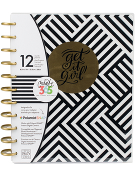 the-happy-planner-12-month-undated-planner-black-&-white ---- --------the-happy-planner-12-month-undated-planner-black-&-white by the-happy-planner