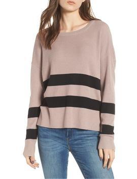 varsity-stripe-sweater by bp
