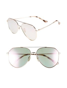 dash-58mm-aviator-sunglasses by diff