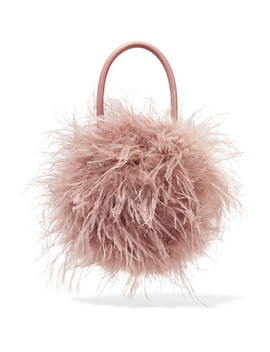 zadie-feather-and-leather-tote by loeffler-randall