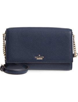 large-oakwood-street-corin-pebbled-leather-crossbody-bag by kate-spade-new-york