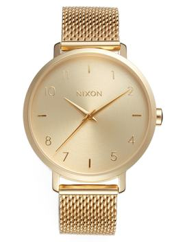 the-arrow-milanese-mesh-strap-watch,-38mm by nixon