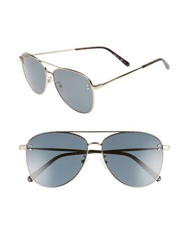 61mm-aviator-sunglasses by stella-mccartney