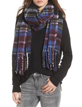 multicolor-bouclé-scarf by bp