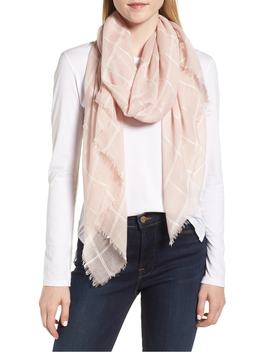 lightweight-windowpane-scarf by sole-society
