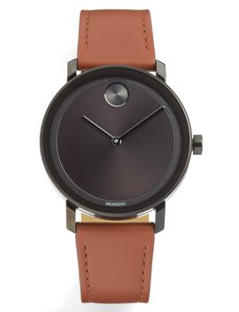 bold-evolution-leather-strap-watch,-40mm by movado