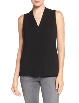 sleeveless-v-neck-top by vince-camuto