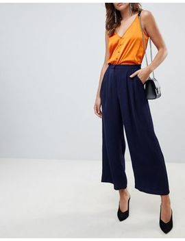 yas-textured-wide-leg-pants by yas