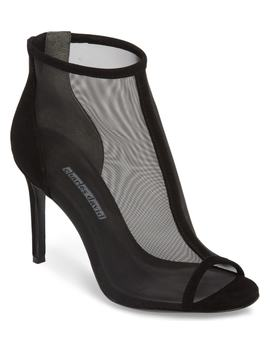 court-mesh-bootie by charles-david