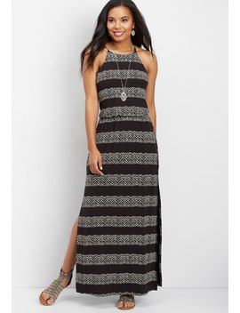 24/7 Chevron Maxi Dress by Maurices