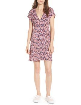 floral-print-button-front-dress by ten-sixty-sherman