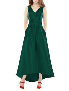 high_low-sateen-twill-gown by alfred-sung