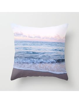 ocean-morning-throw-pillow by morgan-schilke