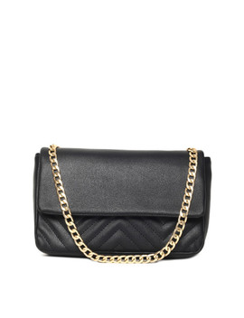 toniq-black-textured-clutch by toniq