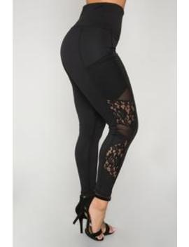 bernice-lace-leggings---black by fashion-nova