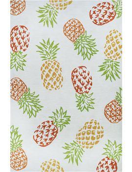 pineapples-indoor_outdoor-rug by couristan