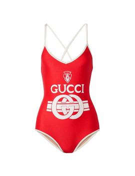 logo-printed-bodysuit-swimsuit-one-piece-bathing-suit by gucci