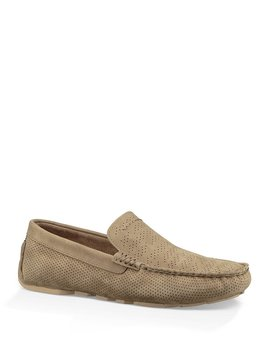 ugg®-mens-henrick-perforated-venetian-nubuck-leather-driver-slip-ons by generic