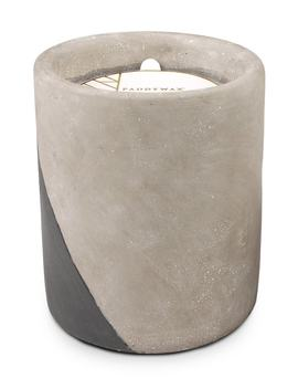 urban-concrete-round-soy-wax-candle by paddywax