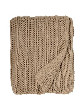 metallic-rib-knit-throw by michael-aram