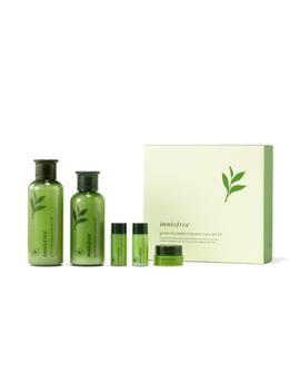 green-tea-balancing-skin-care-set:-skin-200ml-+-15ml-+-lotion-160ml-+-15ml-+-cream-10ml by innisfree