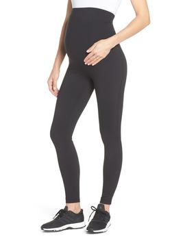 mamasana-live-in-maternity-ankle-leggings by zella