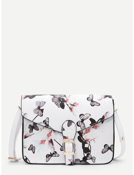 flower-printed-crossbody-bag by romwe