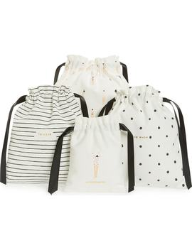 getting-dressed-set-of-3-drawstring-travel-bags by kate-spade-new-york