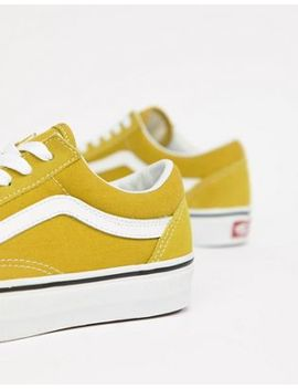 vans-mustard-old-skool-sneakers by vans