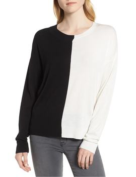 asymmetrical-pullover-sweater by trouvÉ
